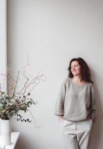 TimelessLinen founder - Joanna Pietrzyk